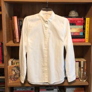 NWT GAP Fitted Boyfriend Oxford Shirt
